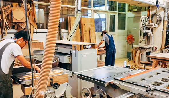 Furniture and carpentry industry